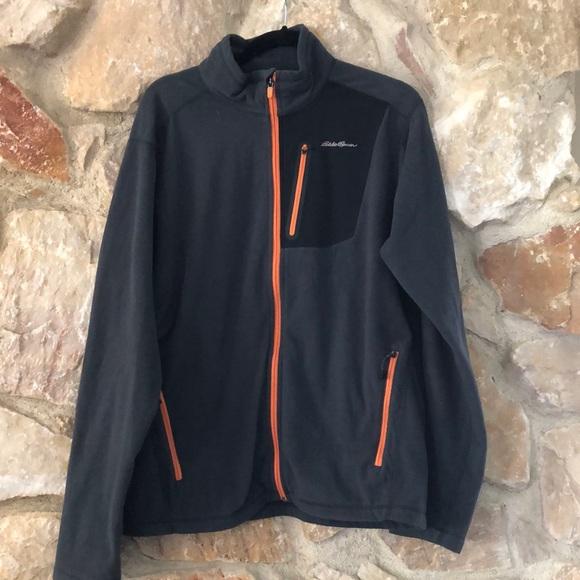 Eddie Bauer First Ascent Men's Full Zip Fleece Jacket